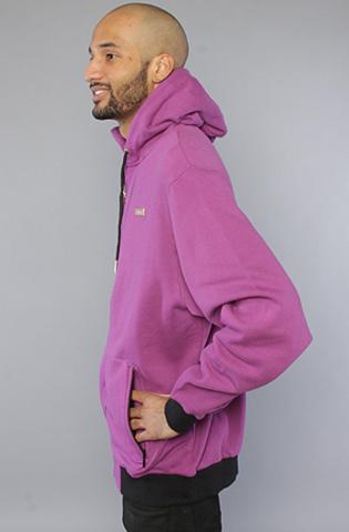 Толстовка фиолетовая на молнии 4