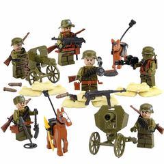 Минифигурки Военных Немецкая Армия Вторая Мировая серия 112