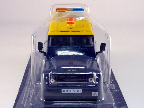 Land Rover Defender 109 LWB 110 Hong Kong 1:43 DeAgostini World's Police Car #9