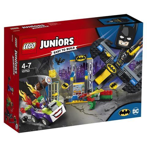 LEGO Juniors: Нападение Джокера на Бэтпещеру 10753 — The Joker Batcave Attack — Лего Джуниорс Подростки