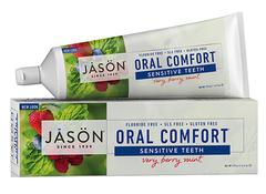 Отбеливающая гелевая зубная паста с коэнзимом Q10 для чувствительных зубов, Jason