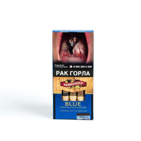Сигариллы Handelsgold Chocolаte Wood Tip Cigarilos 5 шт