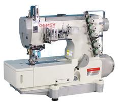 Фото: Плоскошовная промышленная машина Gemsy GEM 5500D-01 (6,4 мм)