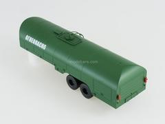 Semitrailer tanker TZ-22 green 1:43 AutoHistory