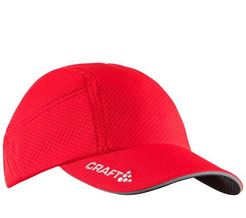 Кепка беговая Craft Running Red
