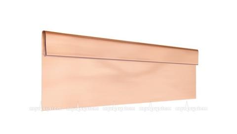 Финишная планка Аквасистем медная с полимерным покрытием POLYESTER 2 м
