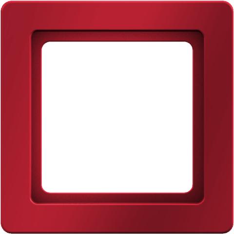 Рамка на 1 пост. Цвет Красный. Berker (Беркер). Q.1. 10116062