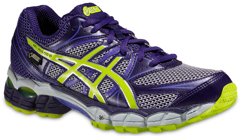 Женские непромокаемые беговые кроссовки Asics Gel-Pulse 6 (T4A9N 3605) фиолетовые фото