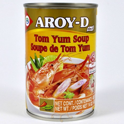 Суп Том Ям готовый Aroy-D 400г