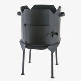 Печь под казан 8-10 литров(сталь 3 мм)
