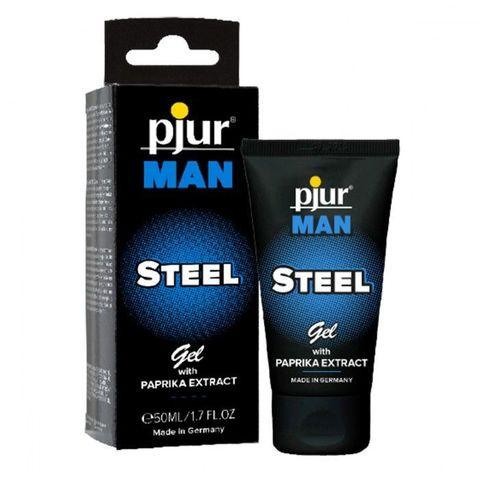 Эрекционный гель для пениса pjur MAN Steel Gel - 50 мл.