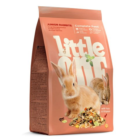 Little One Корм для молодых кроликов 900г