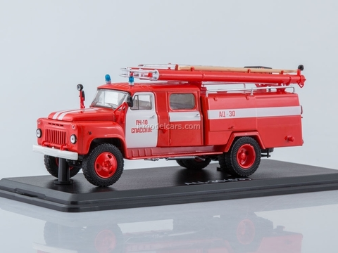 GAZ-53A AC-30 106A Fire Department #10 Spassky 1:43 Start Scale Models (SSM)