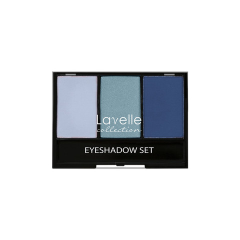 Лавелль тени ES-27 тройные тон 05 голубой
