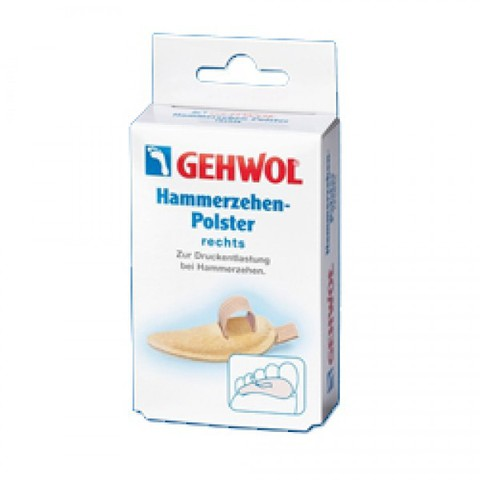Gehwol Hammerzehen-Polster rechts - Подушечка под пальцы ног малая, правая №0