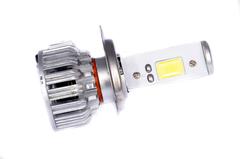 LED лампы головного света C-3 H4, (встроенный радиатор с вентилятором) комп.