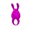 Эрекционное кольцо с вибрацией, Pretty Love NAUGHTY BUNNY (d. 3,1 см)