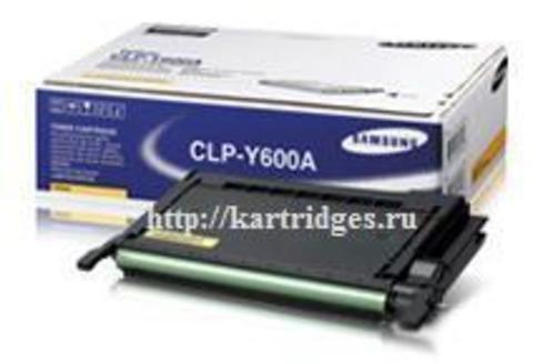 Картридж Samsung CLP-Y600A