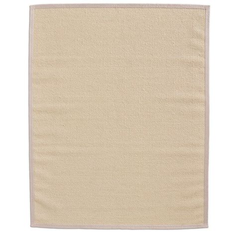 Belgian Textured Wool Sisal Rug - Cream