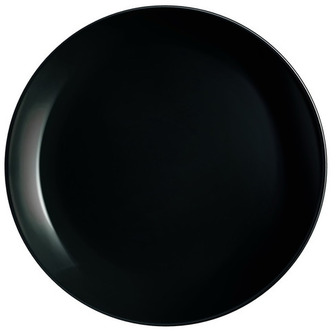 Тарелка подставная Luminarc Diwali Black 27,3 см (P0786)