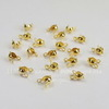 Каллоты 8х4 мм (цвет - золото), 20 штук