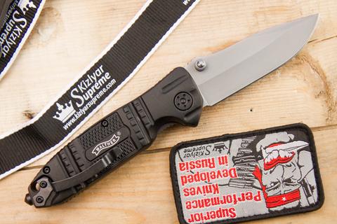 Складной нож Walther Silver Tac