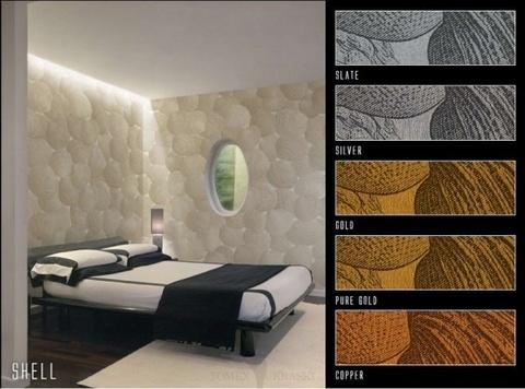 Панно Italreflexes Macro Shell 002 Silver, интернет магазин Волео