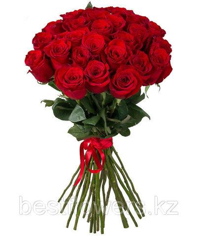 Букет из 25 роз (90 см)