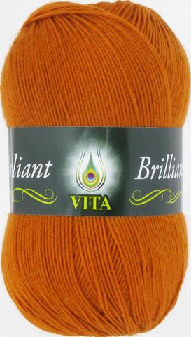 Пряжа Vita Brilliant терракот 4998