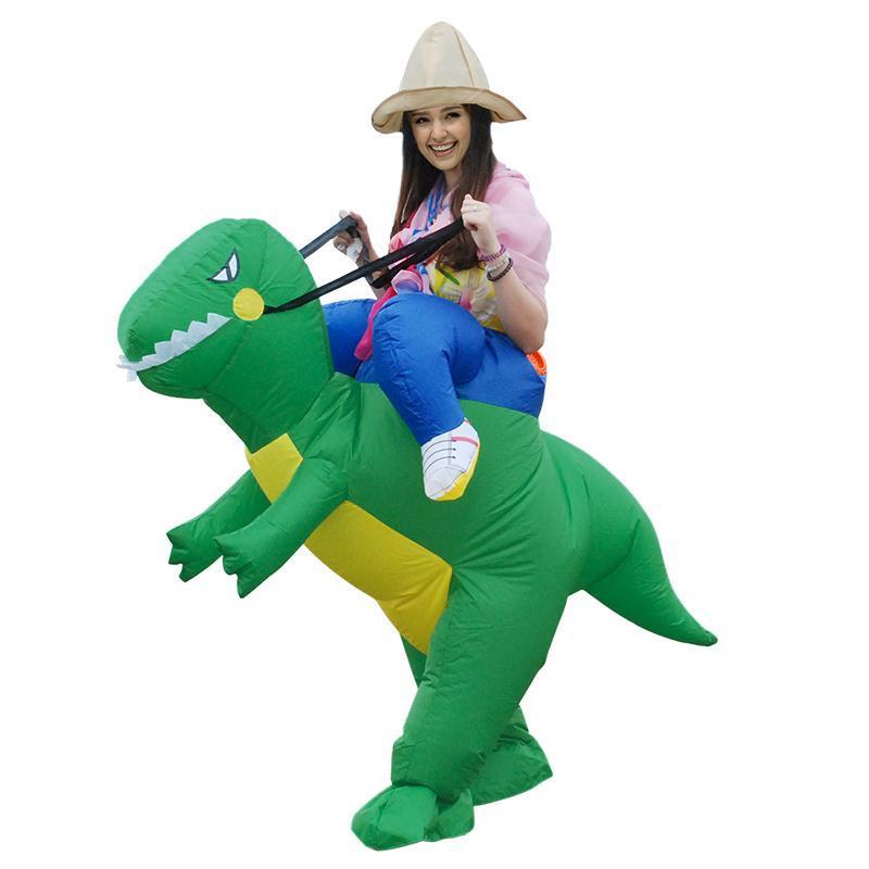 Взрослый костюм Динозавра Рекса