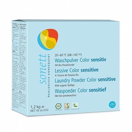 """Порошок стиральный """"Гипоаллергенный"""", для цветных тканей Sonett 1,2кг"""