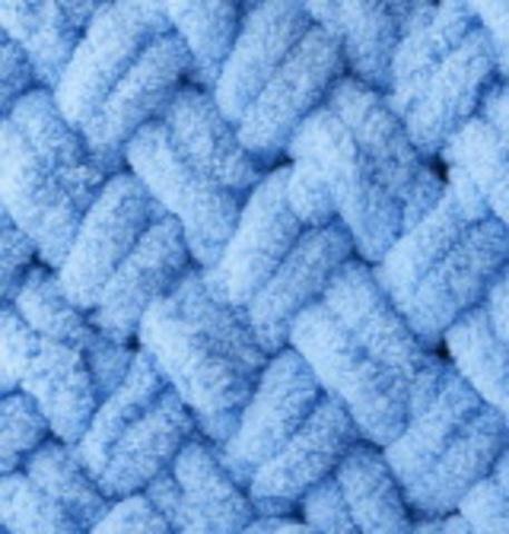 Пряжа Puffy (Alize) 289 св. синий, фото