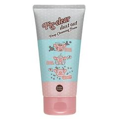 Глубоко очищающая пенка для лица Holika Holika Pig-clear dust out Deep Cleansing Foam