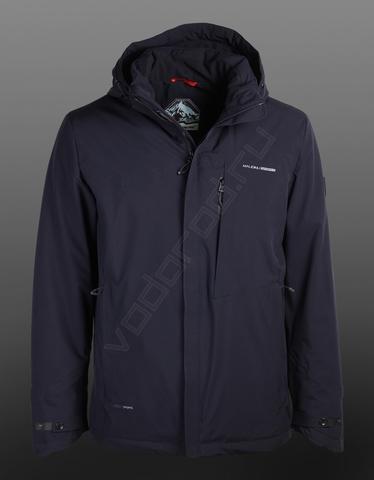 Куртка демисезонная MALIDINU 18743 (темно-синяя)