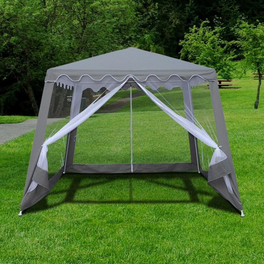 Беседки и шатры Садовый шатер AFM-1036NB Grey (3x3/2.4x2.4) afm-1036nb-grey-3x3-2-4x2-4-1000x1000.jpg