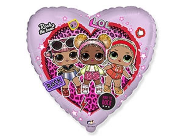 Фольгированные шары Шар Сердце Куклы ЛОЛ 17779.0x500.jpg