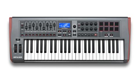 Миди-клавиатура Novation Impulse 49