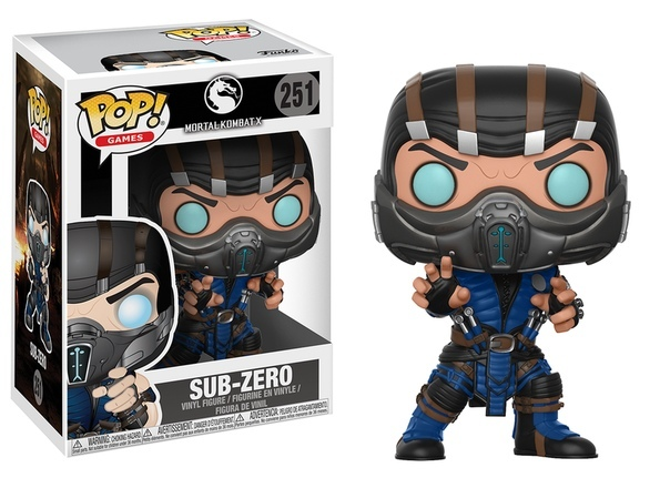 Фигурка Funko Pop! Games: Mortal Kombat - Sub-Zero