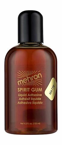 MEHRON Сандарачный матовый клей Spirit Gum Matte, 133 мл