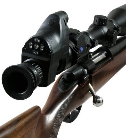 Цифровой охотничий прицел-насадка ночного видения PARD NV007