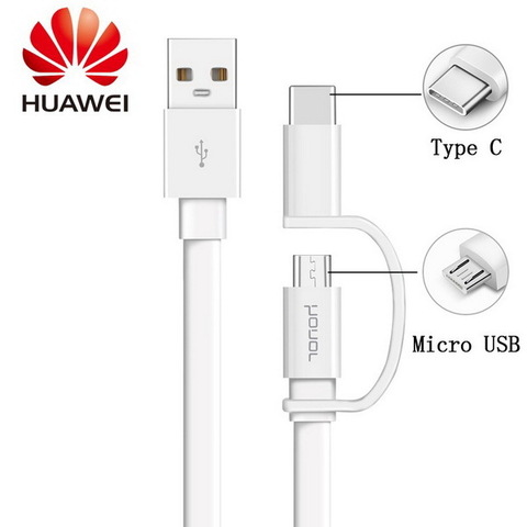 Кабель microUSB/Type-C Huawei AP-55 (ORIGINAL)