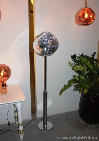 replica Tom Dixon Melt floor  lamp  ( chrome  )