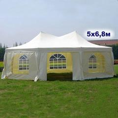 Шатер-павильон AFM-1054HF Beige (5х6.8) (уп. 2 кор.)