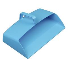 Совок закрытый пластмассовый 305x200мм DP 3 B синий