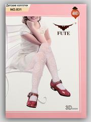 831 FUTE колготки детские, белые