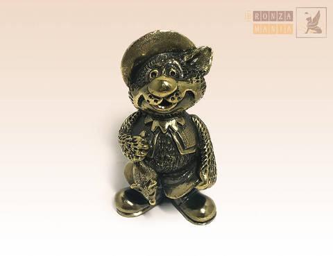 фигурка Кот в сапагах с мышью