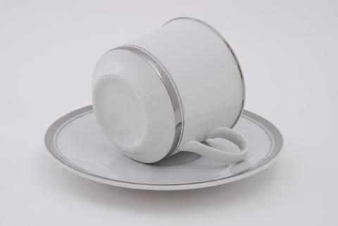 Набор чашек с блюдцем 0,10 л 6 штук Сабина Leander