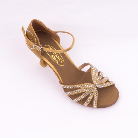 Туфли для танцев со стразами, арт. S739t7
