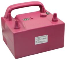 Компрессор с двумя клапанами плавного нажатия с контроллером скорости и времени Розовый