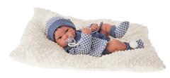 Munecas Antonio Juan Кукла-младенец Анжело в голубом, 42 см (5035B)